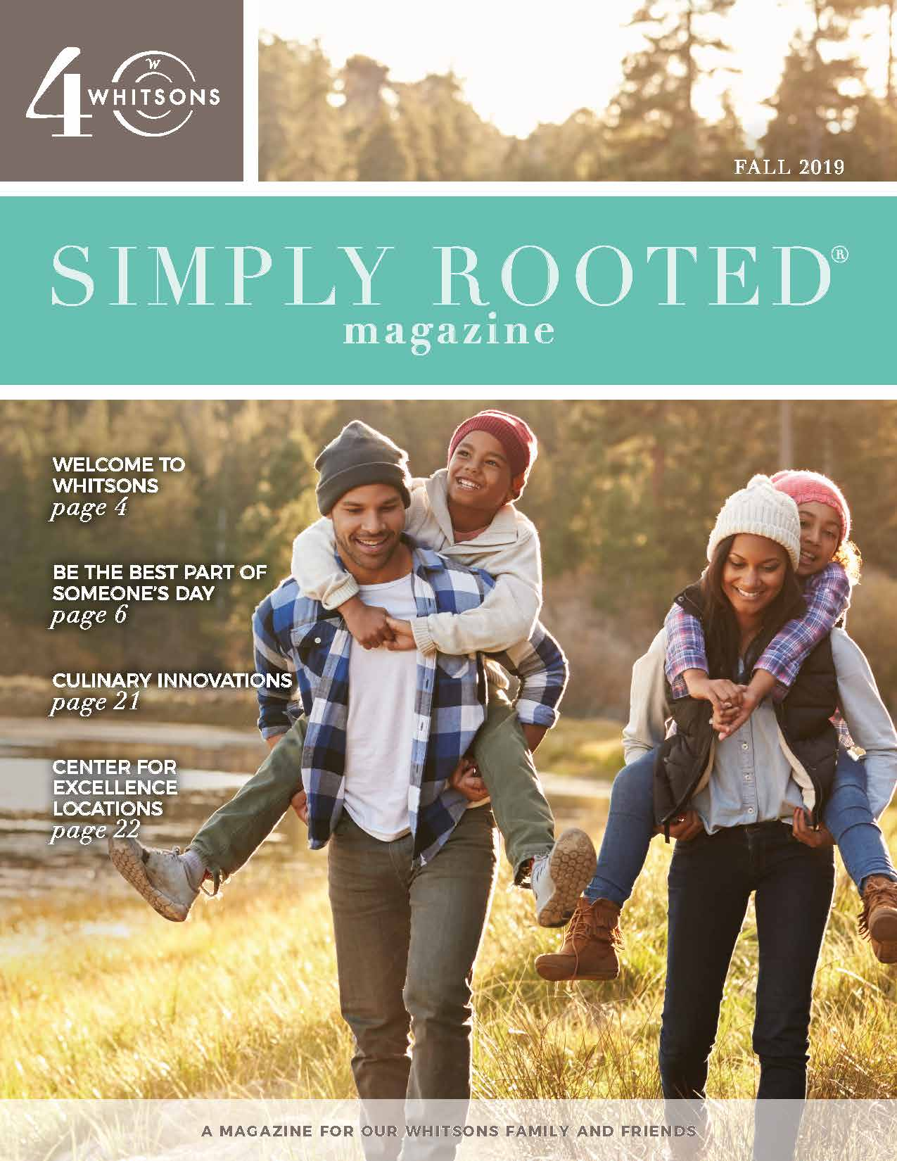Simply Rooted Magazine - Fall 2019