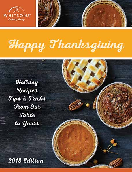 Thanksgiving Recipes from Whitsons (2018)